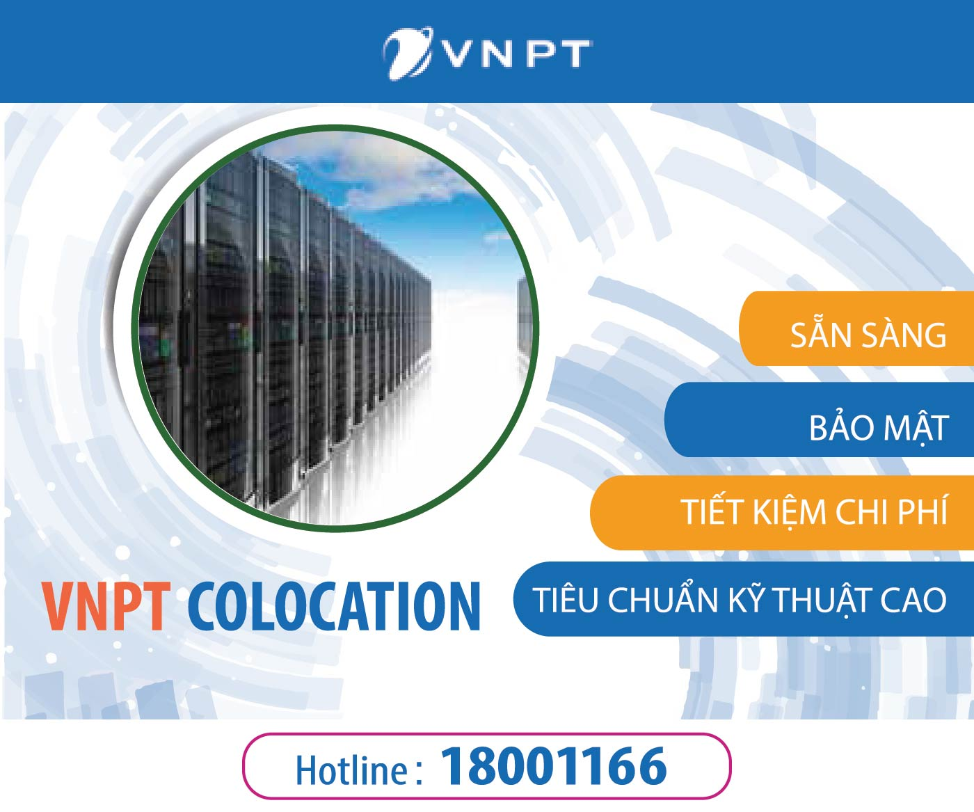 dịch vụ vnpt colocation
